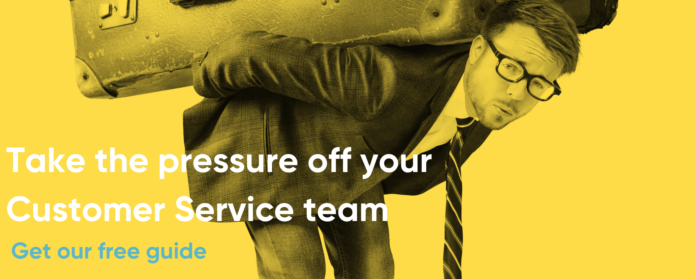 Help lighten the load from your Customer Service team