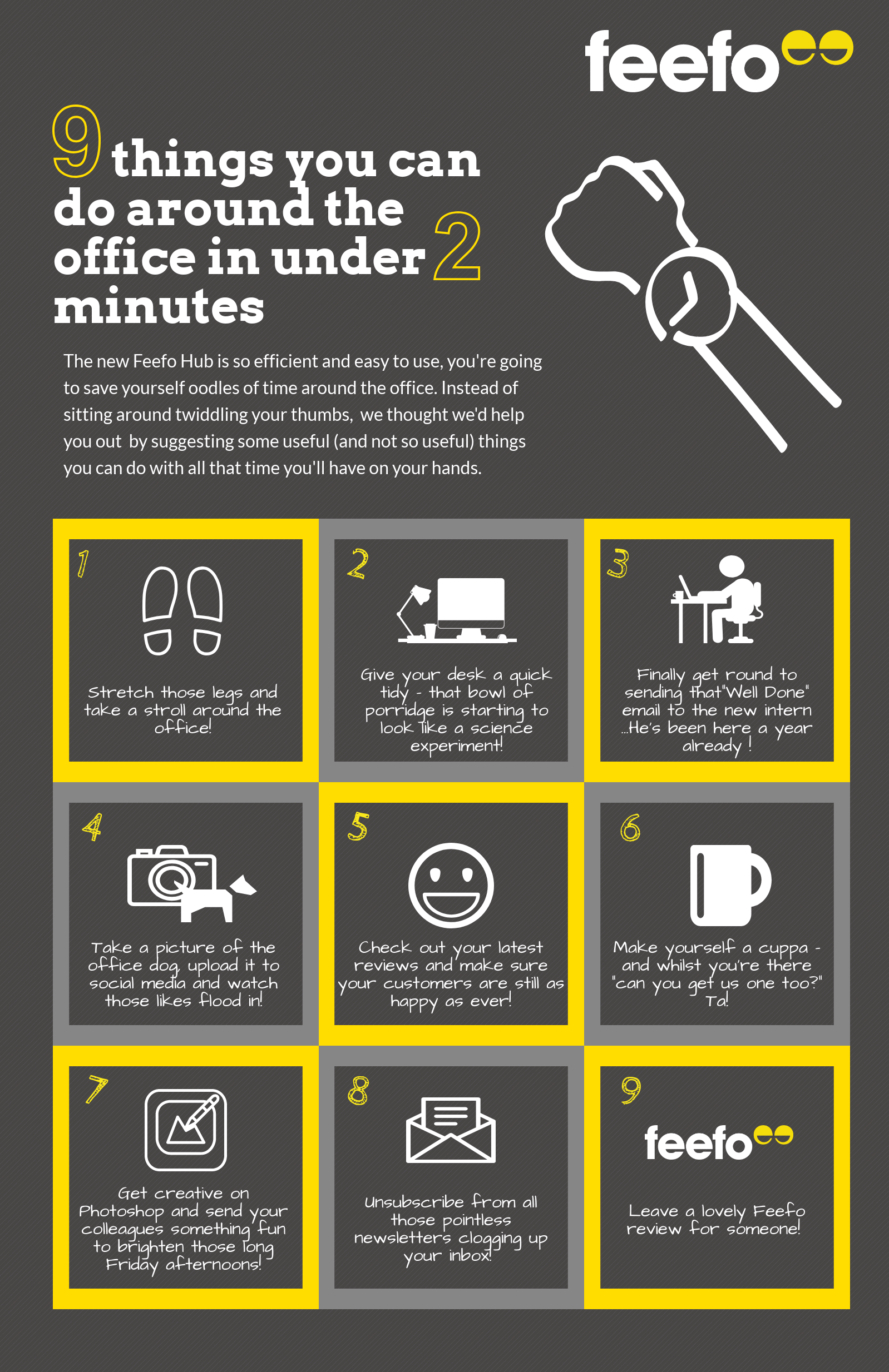9 things you can do in under 2 minutes