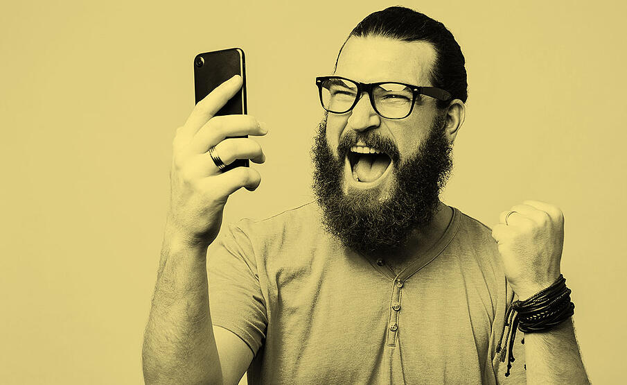 happy-man-phone-sepia
