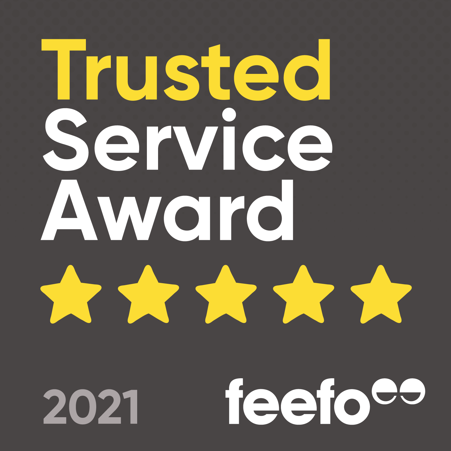Feefo Trusted Service Badge